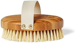 Fragrances, Perfumes, Cosmetics Bamboo Brush for Dry Massage - Crystallove Bamboo Agave Body Brush