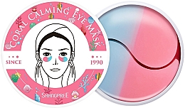 Fragrances, Perfumes, Cosmetics Hydrogel Eye Patches - Shangpree Coral Calming Eye Mask