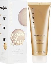 Fragrances, Perfumes, Cosmetics Skin Radiance Mask - Lancaster Instant Glow Gold Peel-Off Mask