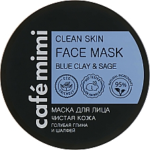 Fragrances, Perfumes, Cosmetics Clean Skin Face Mask - Cafe Mimi Clean Skin Face Mask