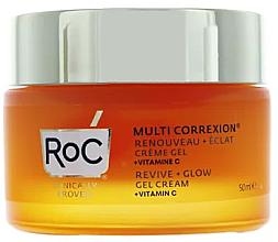 Fragrances, Perfumes, Cosmetics Face Gel-Cream - Roc Multi Correxion Gel Cream