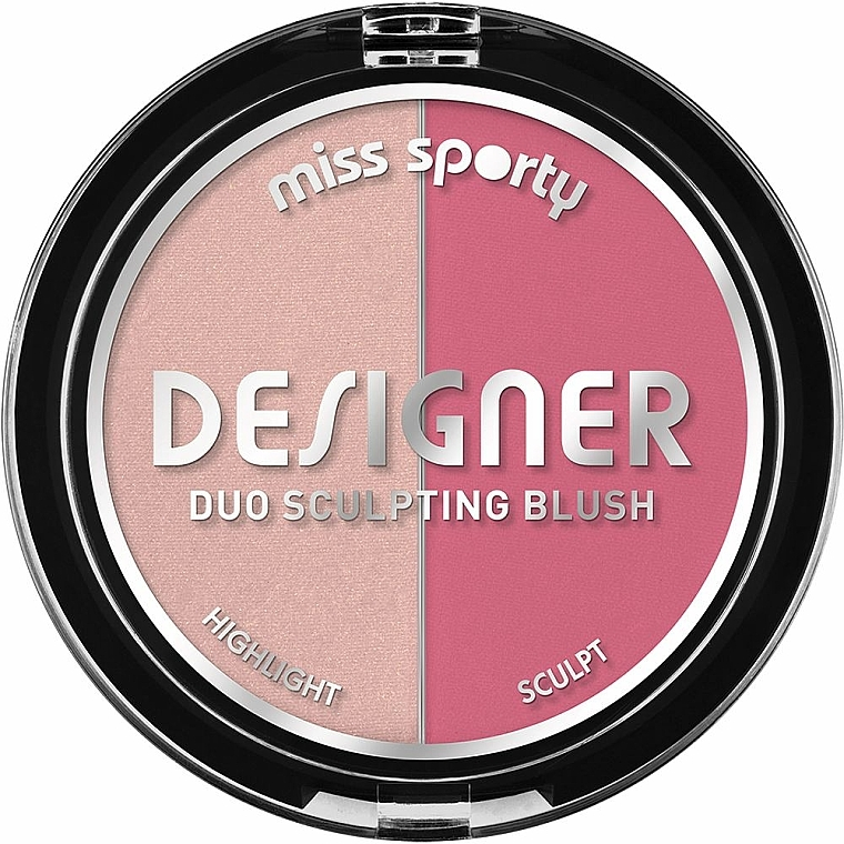 Sculpting Blush - Miss Sporty Draping Designer Duo Sculpting Blush