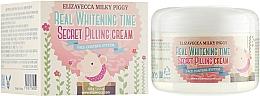 Fragrances, Perfumes, Cosmetics Anti Age Spot Facial Peeling Cream - Elizavecca Face Care Milky Piggy Real Whitening Time Secret Pilling Cream