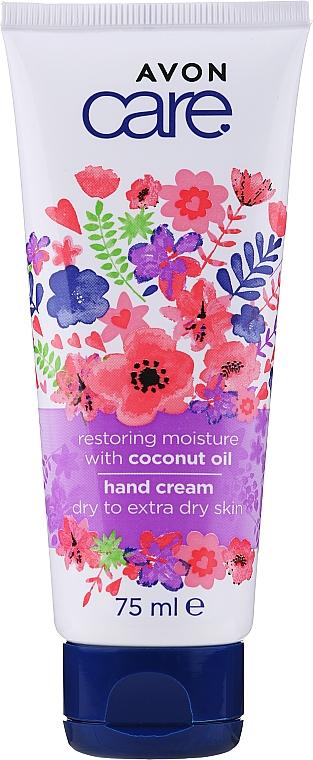 Restoring Coconut Oil Hand Cream - Avon Care Restoring Moisture With Coconut Oil Hand Cream — photo N1