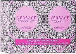 Fragrances, Perfumes, Cosmetics Versace Bright Crystal Absolu - Set (edp/2*30ml)