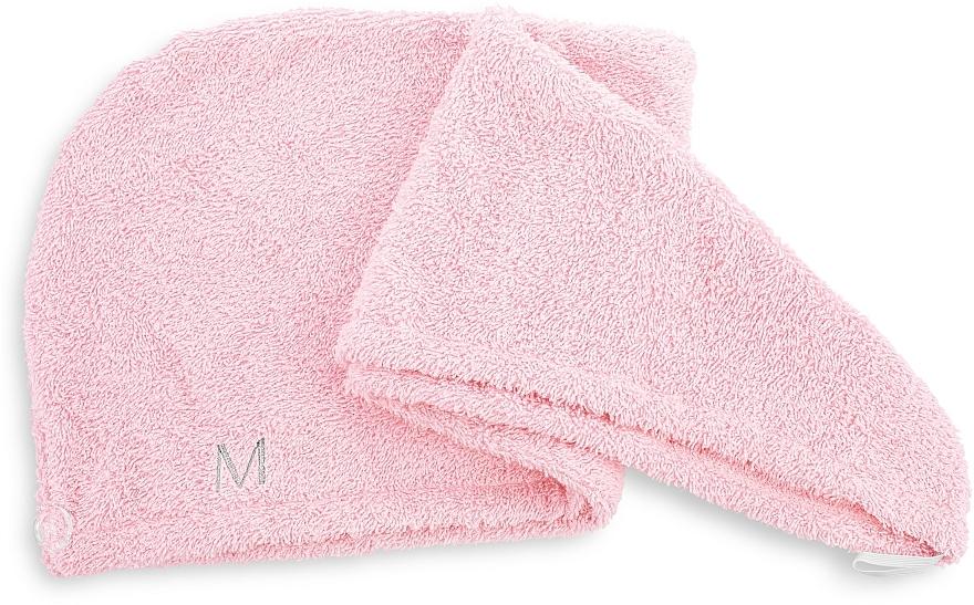 Hair Drying Turban, powdery - MakeUp