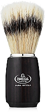 Fragrances, Perfumes, Cosmetics Shaving Brush, 11712, black - Omega