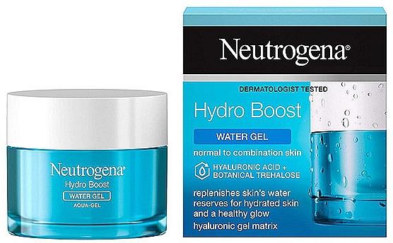 Moisturizing Face Gel - Neutrogena Hydro Boost Aqua-Gel Normal To Combination Skin — photo N2