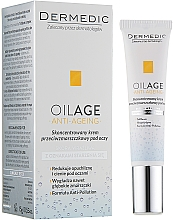 Fragrances, Perfumes, Cosmetics Concentrated Anti-Wrinkle Eye Cream - Dermedic Oilage Concentrated Anti-Wrinkle Eye Cream