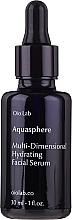 Fragrances, Perfumes, Cosmetics Moisturizing Face Serum - Oio Lab Aquasphere Face Serum