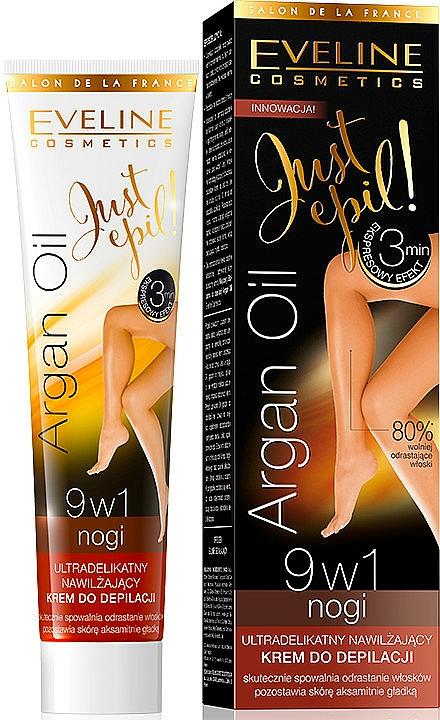 Hair Removal Cream 9in1 - Eveline Cosmetics Argan Oil