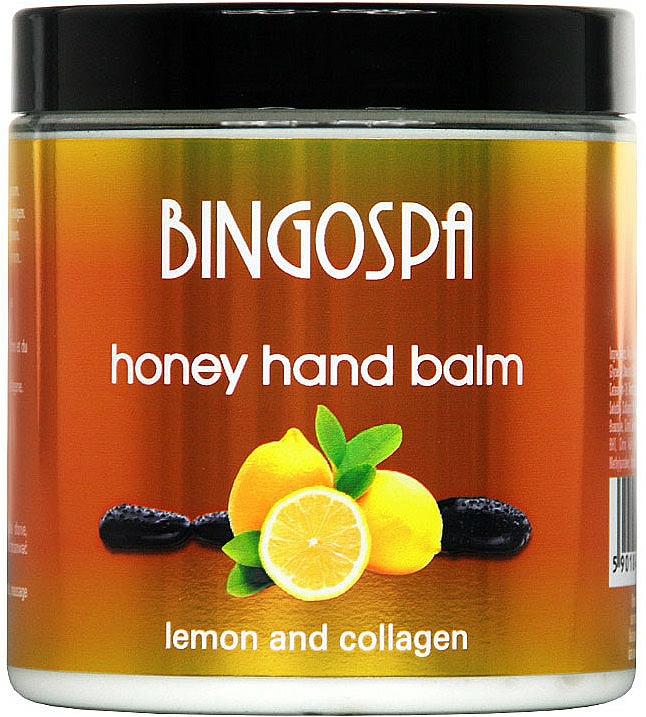 Hand Balm with Honey and Lemon - BingoSpa