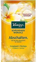 "Fragrances, Perfumes, Cosmetics Bath Salt ""Rest"" - Kneipp Bubbling Mineral Bath Salt Unwind Frangipani and Moringa"