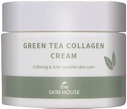 Fragrances, Perfumes, Cosmetics Soothing Collagen & Green Tea Cream - The Skin House Green Tea Collagen Cream