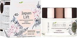 Fragrances, Perfumes, Cosmetics Anti-Wrinkle Moisturizing Day Cream 40+ - Bielenda Japan Lift Day Cream SPF6