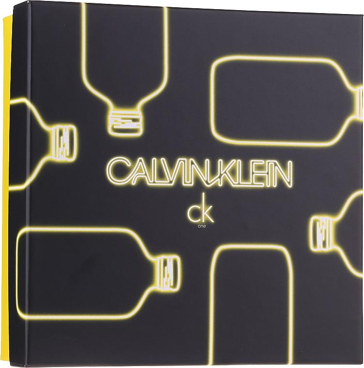 Calvin Klein CK One - Set (edt/100ml + sh/g/100ml)
