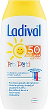 Fragrances, Perfumes, Cosmetics Kids Sunscreen Milk - Ladival SPF50