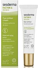 Fragrances, Perfumes, Cosmetics Eye Contour Cream - SesDerma Laboratories Factor G Renew Eye Contour