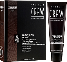 Fragrances, Perfumes, Cosmetics Grey Hair Coverage System - American Crew Precision Blend Shades
