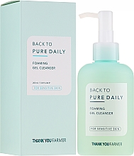 Fragrances, Perfumes, Cosmetics Cleansing Gel-Foam for Sensitive Skin - Thank You Farmer Back To Pure Foaming Gel Cleanser