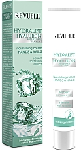Fragrances, Perfumes, Cosmetics Hand and Nail Cream - Revuele Hydralift Hyaluron Hands And Nails Nourishing Cream