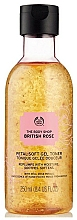 Fragrances, Perfumes, Cosmetics Gel Tonic For Dehydrated Skin - The Body Shop British Rose Petal-Soft Gel Toner
