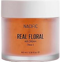 Fragrances, Perfumes, Cosmetics Rose Petals Face Cream - Nacific Real Floral Rose Air Cream