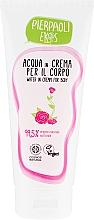 Fragrances, Perfumes, Cosmetics Moisturizing Body Cream with Organic Rose Water - Ekos Personal Care