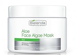Fragrances, Perfumes, Cosmetics Alginate Face Mask with Aloe - Bielenda Professional Face Algae Mask with Aloe