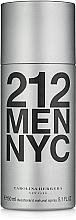 Fragrances, Perfumes, Cosmetics Carolina Herrera 212 MEN NYC - Deodorant
