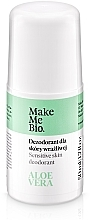 Fragrances, Perfumes, Cosmetics Natural Deodorant with Aloe Vera Extract - Make Me Bio Deo Natural Roll-on
