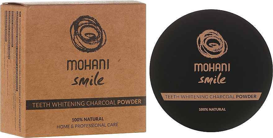 Whitening Tooth Powder - Mohani Smile Teeth Whitening Charcoal Powder