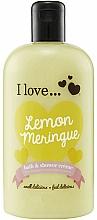 Fragrances, Perfumes, Cosmetics Bath & Shower Cream - I Love... Lemon Meringue Bath And Shower Cream