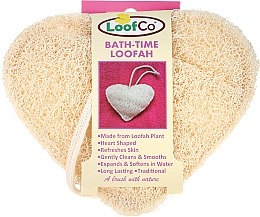 "Fragrances, Perfumes, Cosmetics Natural Body Sponge ""Heart"" - LoofCo Body Loofah"