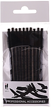 Fragrances, Perfumes, Cosmetics Eyebrow and Eyelash Brush 10 pcs, Black - Ibra
