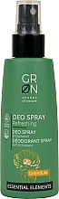 Fragrances, Perfumes, Cosmetics Deodorant - GRN Deo Spray Calendula
