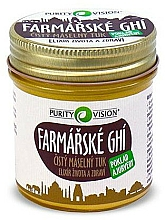 Fragrances, Perfumes, Cosmetics Ghi Butter - Purity Vision Farmers Ghi