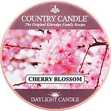 Fragrances, Perfumes, Cosmetics Tea Light Candle - Country Candle Cherry Blossom