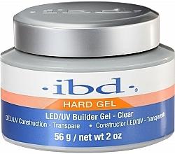 Fragrances, Perfumes, Cosmetics Nail Builder Gel, transparent - IBD LED/UV Builder Clear Gel