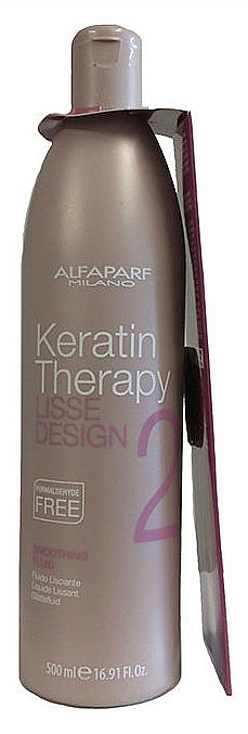 Smoothing Hair Fluid - Alfaparf Lisse Design Keratin Smoothing Fluid