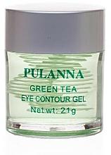 Fragrances, Perfumes, Cosmetics Toning Eye Countour Gel - Pulanna Green Tea Eye Countour Gel