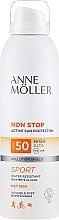 Fragrances, Perfumes, Cosmetics Sunscreen Body Spray - Anne Moller Non Stop Active Sun Invisible Mist SPF50