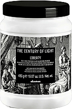 Fragrances, Perfumes, Cosmetics Free Hand Bleaching Powder - Davines The Century of Light Liberty Free Hand Premium Hair Bleaching Powder