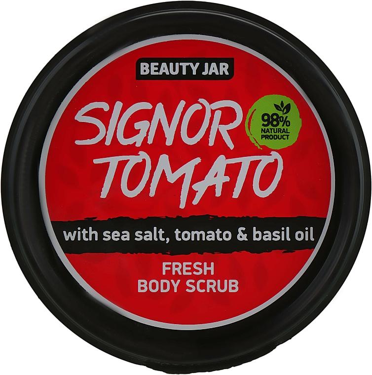 "Body Scrub ""Signor Tomato"" - Beauty Jar Fresh Body Scrub"