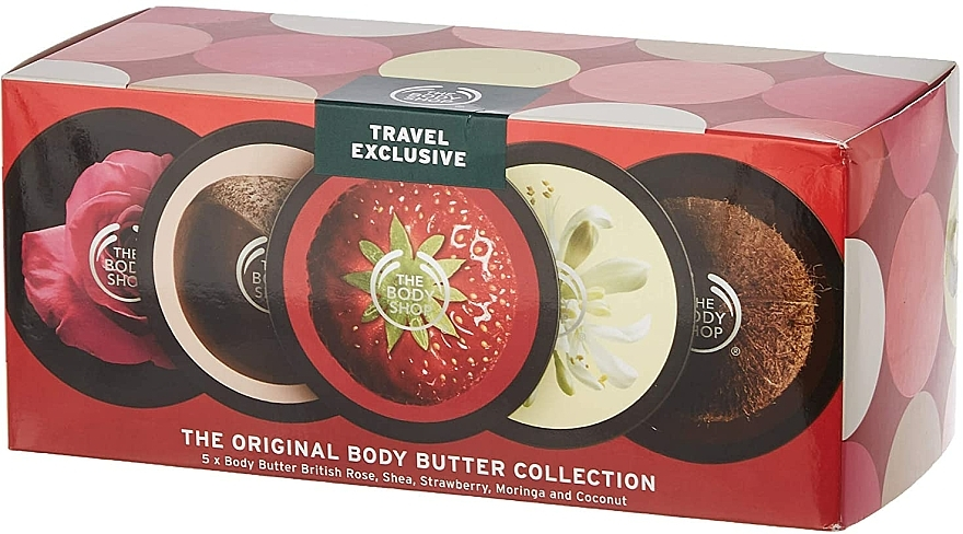 Set - The Body Shop Body Butter Collection (b/butter/5x50ml) — photo N1