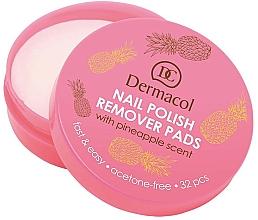 Fragrances, Perfumes, Cosmetics Nail Polish Remover Pads - Dermacol Nail Polish Remover Pads