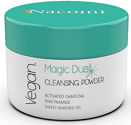 Cleansing Face Powder for Problem Skin - Nacomi Face Cleansing & Detoxifying Powder Magic Dust
