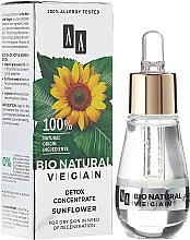 Fragrances, Perfumes, Cosmetics Concentrate for Face - AA Cosmetics Bio Natural Vegan Koncentrat Detox