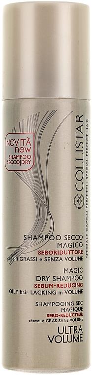 Sebum-Reducing Dry Shampoo - Collistar Speciale Capelli Perfetti Magic Sebum-Reducing Oily Hair Lacking In Volume