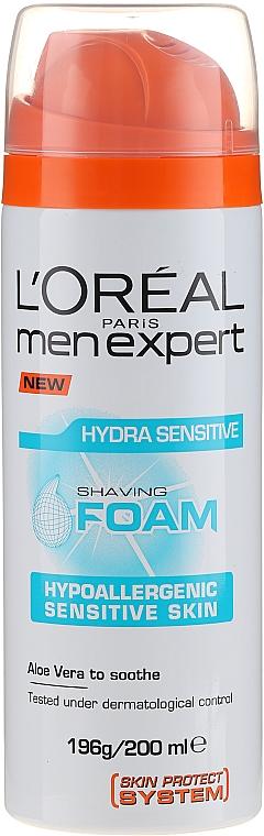 Shaving Foam for Sensitive Skin - L'Oreal Paris Men Expert